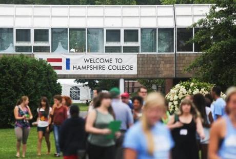 "Hampshire College was ranked number 20 in Forbes' 2012 list of the ""Most Entrepreneurial Colleges."""
